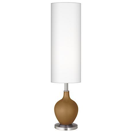 Light Bronze Metallic Ovo Floor Lamp