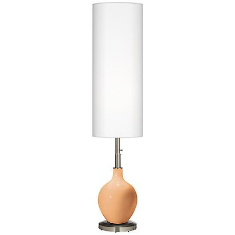 Soft Apricot Ovo Floor Lamp