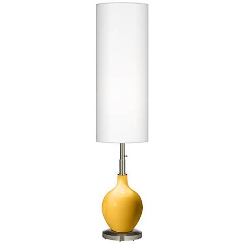 Goldenrod Ovo Floor Lamp