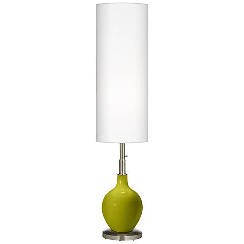 Olive Green Ovo Floor Lamp