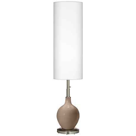 Mocha Ovo Floor Lamp