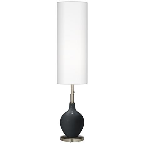 Black of Night Ovo Floor Lamp