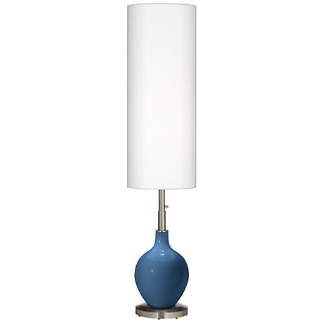 Regatta Blue Ovo Floor Lamp