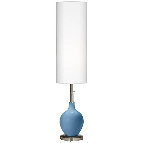Secure Blue Ovo Floor Lamp