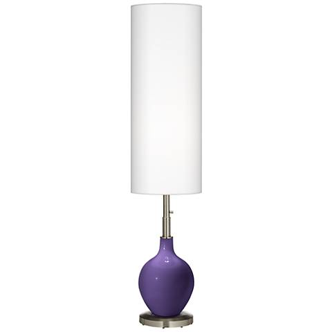 Izmir Purple Ovo Floor Lamp