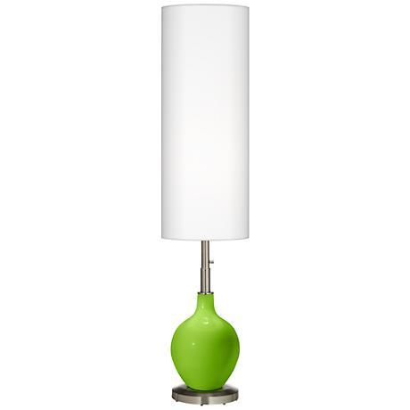 Neon Green Ovo Floor Lamp