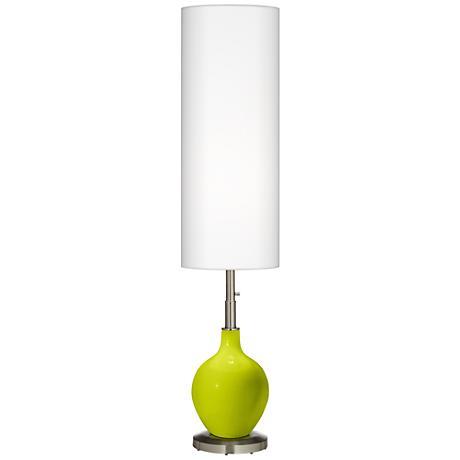 Pastel Green Ovo Floor Lamp