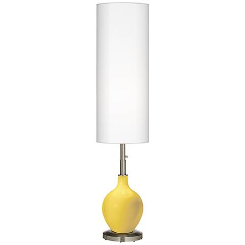 Lemon Zest Ovo Floor Lamp
