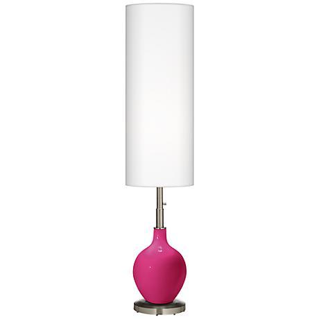 Beetroot Purple Ovo Floor Lamp