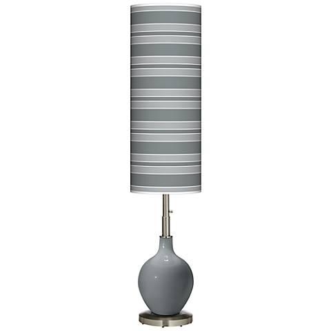 Software Bold Stripe Ovo Floor Lamp