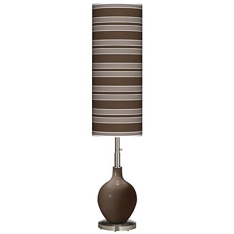 Carafe Bold Stripe Ovo Floor Lamp