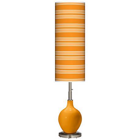 Carnival Bold Stripe Ovo Floor Lamp