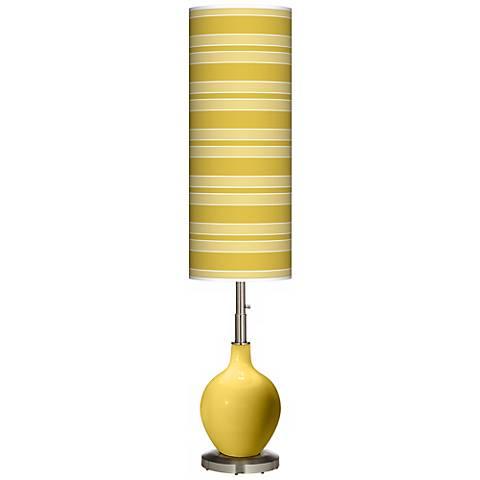Nugget Bold Stripe Ovo Floor Lamp