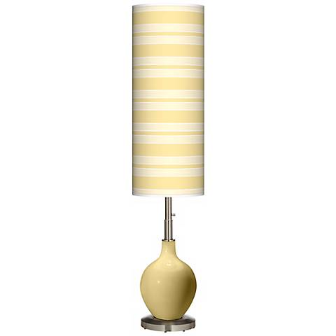 Butter Up Bold Stripe Ovo Floor Lamp