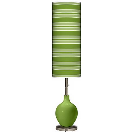 Gecko Bold Stripe Ovo Floor Lamp