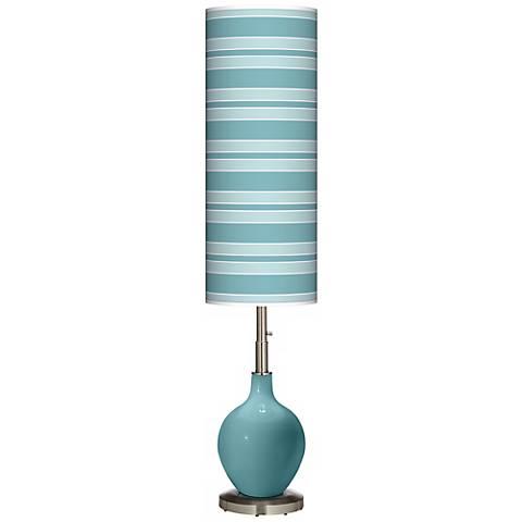 Reflecting Pool Bold Stripe Ovo Floor Lamp