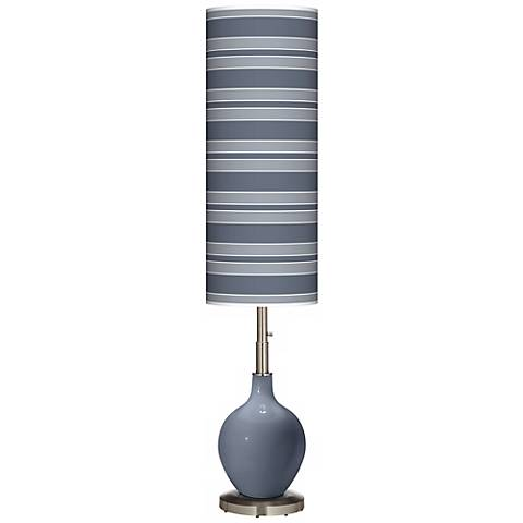 Granite Peak Bold Stripe Ovo Floor Lamp