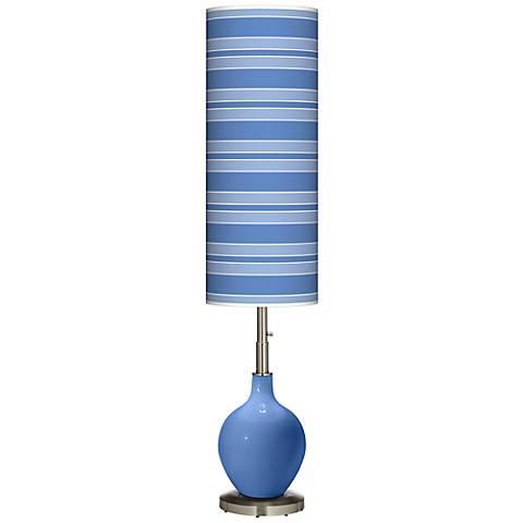 Dazzle Bold Stripe Ovo Floor Lamp