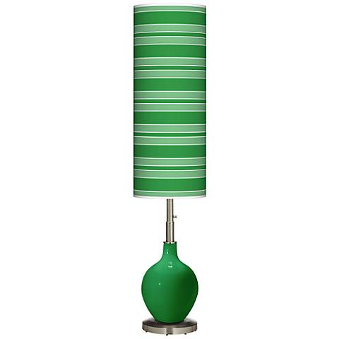 Envy Bold Stripe Ovo Floor Lamp