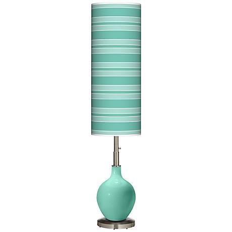 Larchmere Bold Stripe Ovo Floor Lamp