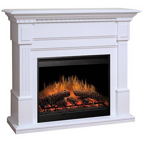 Dimplex Essex White Electric Fireplace