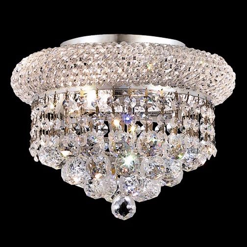 Marvelous Primo Collection 3 Light Royal Cut Crystal Chandelier