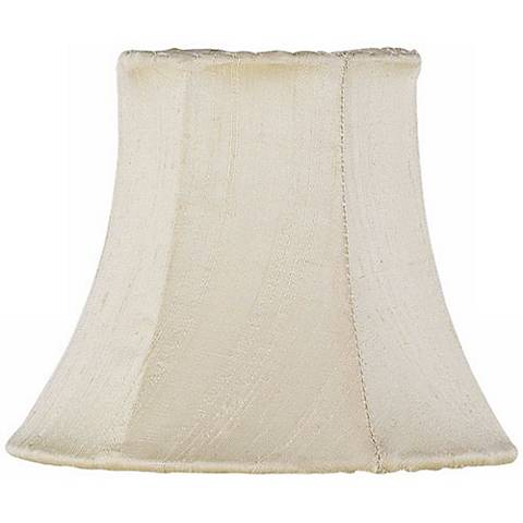 Ivory Silk Shade 3x5x4.25 (Clip-On)