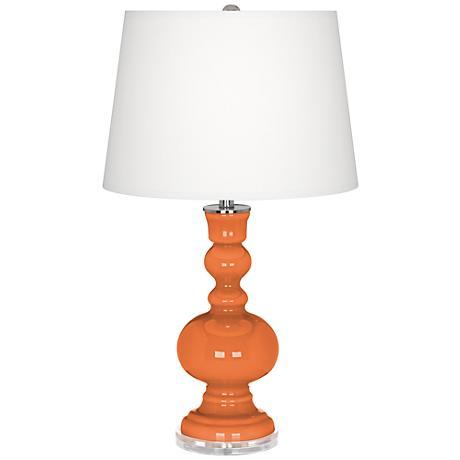 Celosia Orange Apothecary Table Lamp