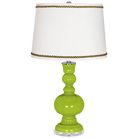 Tender Shoots Apothecary Table Lamp with Twist Scroll Trim