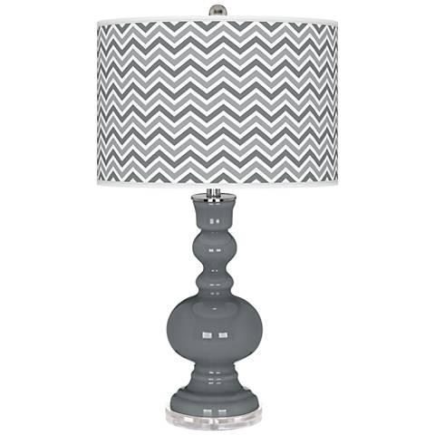 Software Narrow Zig Zag Apothecary Table Lamp