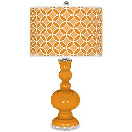 Carnival Circle Rings Apothecary Table Lamp