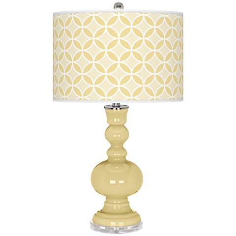 Butter Up Circle Rings Apothecary Table Lamp
