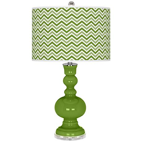 Gecko Narrow Zig Zag Apothecary Table Lamp