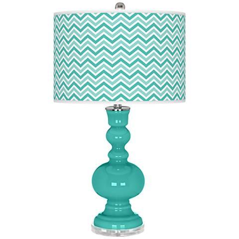 Synergy Narrow Zig Zag Apothecary Table Lamp