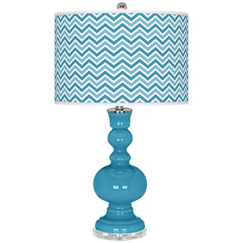 Jamaica Bay Narrow Zig Zag Apothecary Table Lamp