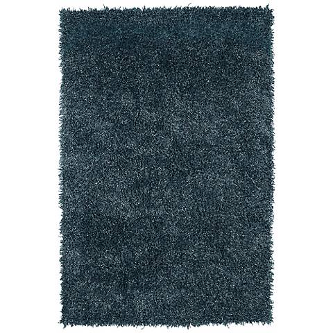 Belize BZ100 Spa Blue 108 Shag Area Rug