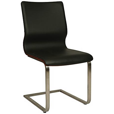 Impacterra Charlize Contemporary Black Side Chair