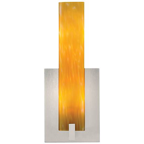 "Tech Lighting 12"" High Satin Nickel LED Cosmo Wall Sconce"