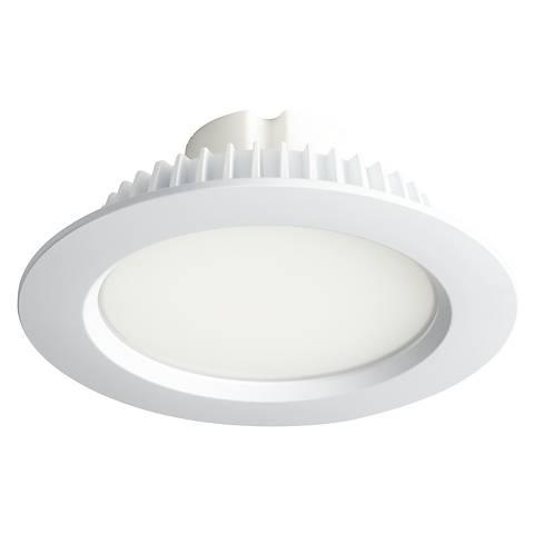 """6"""" Recessed Lighting 13 Watt LED Retrofit Trim in White"""