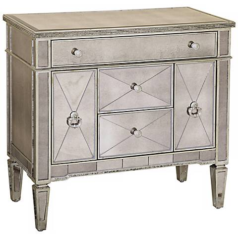 Borghese Mirrored Library Chest