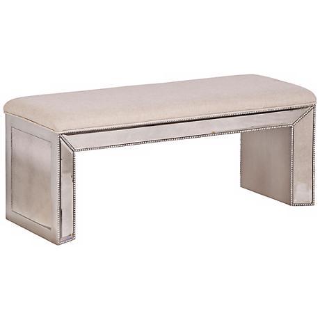 Murano Mirrored Bench