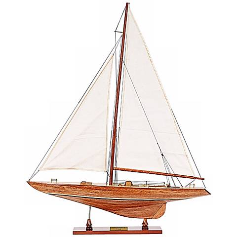 Columbia Small Yacht Model
