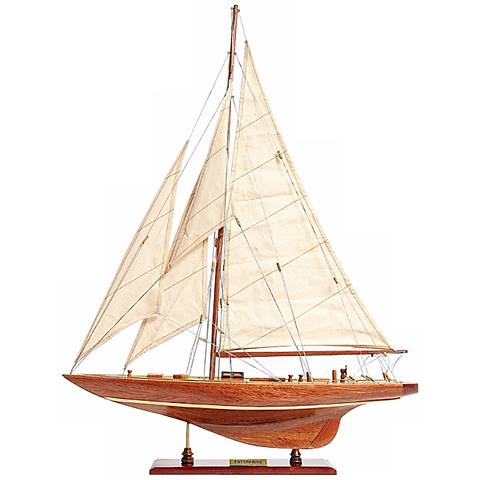 Enterprise Yacht Boat Model