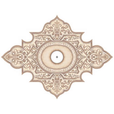 """Somerset Giclee 36"""" Wide Repositionable Ceiling Medallion"""