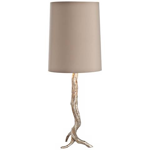 Arteriors Home Adler Silver Leaf Iron Table Lamp
