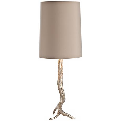 Arteriors Home Adler Silver Leaf Iron Table Lamp