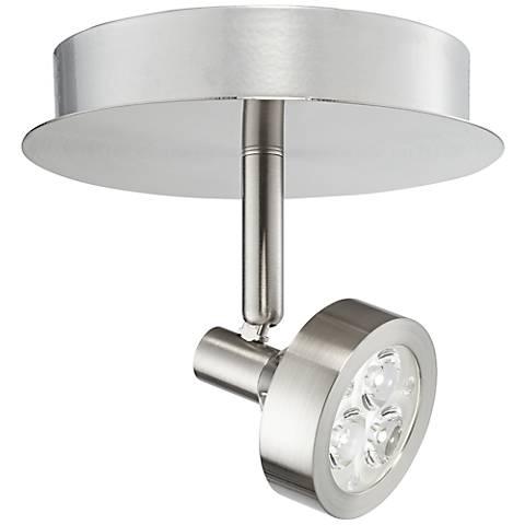 Pro-Track® Tilden 1-Light Brushed Steel LED Ceiling Light
