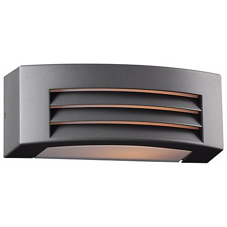 """Luciano 11 1/2"""" Wide Bronze Graphite Outdoor Wall Light"""