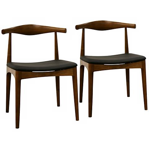 Set of 2 Sonor Solid Wood Dining Chairs