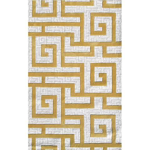 Ecconox 72334 Rome Gold Area Rug